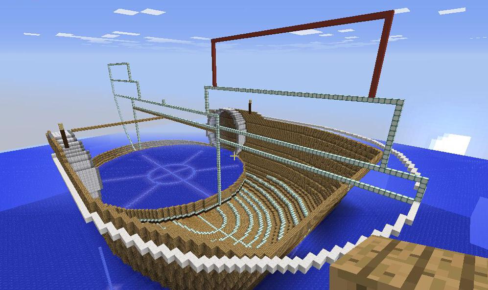 排水完成,确定底层甲板