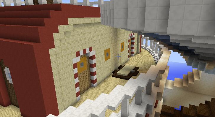 船尾门窗(连接保健室和食材仓库)。