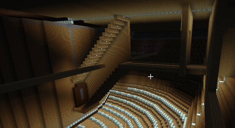 船坞系统后方走廊,通向弗兰奇武器开发室和乌索普工厂,以及楼上的水之酒吧和动力室。 ...