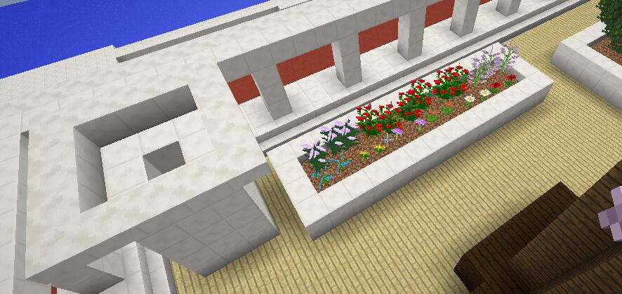 厨房烟囱&罗宾的小花圃