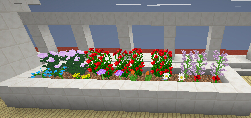 罗宾的小花圃(后将泥土换为草地)