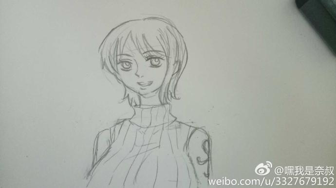 【跟我学画画】手绘教程第六期【娜美by奈叔】